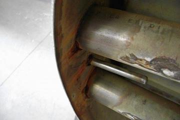 Contactcorrosie aluminium staal